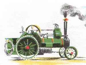 a Traction engine (8 kb)